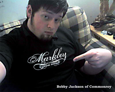 Bobby Jackson of Comonroy sportin' the new Markley Custom T-shirt